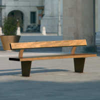 Campus  bench