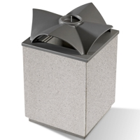 Topazio papelera recogida selectiva