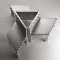 Isometrica asiento y la mesa monolítico modular