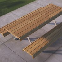 AIR – L COLLECTION BENCH-TABLE