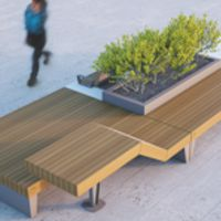 ISOLAURBANA SEATING AND PLANTERS