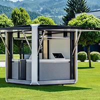 Cubox- kiosco solar